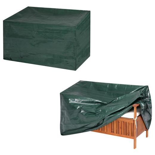 Abdeckung 2-Sitzer Gartenbank Grün 135x66x88/70cm