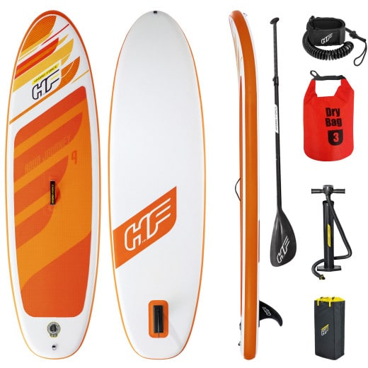 SUP Stand Up Paddle Board 115kg Drybag 274x76x12cm iSUP