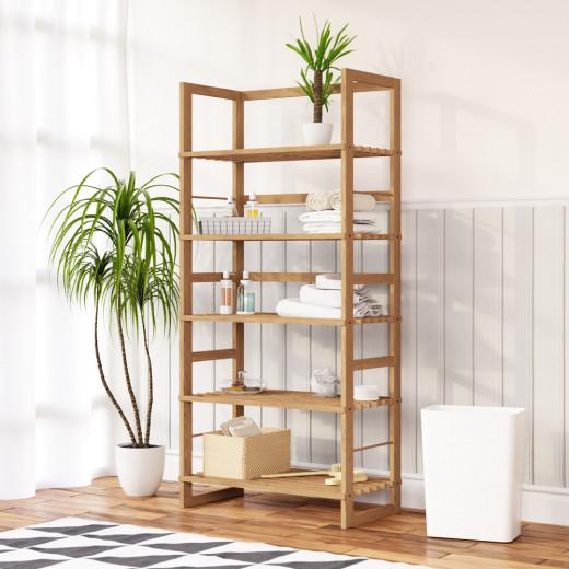 Standing Shelf Öland Wood 135cm