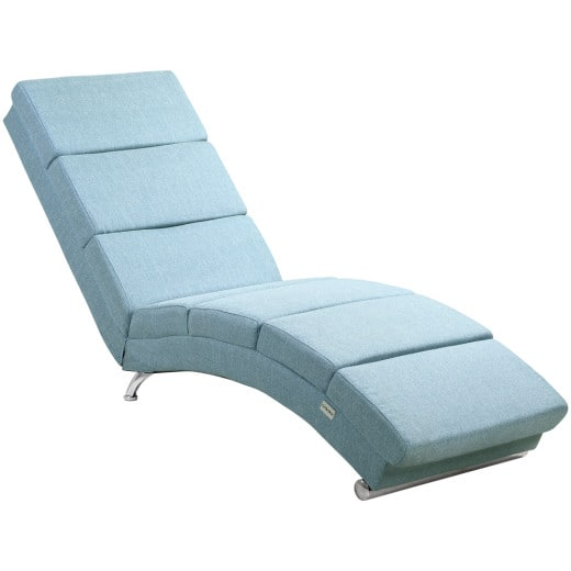 Chaise Lounge London in Petrol