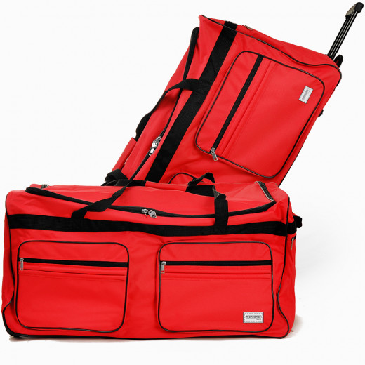 Large Red 160L Duffel Bag