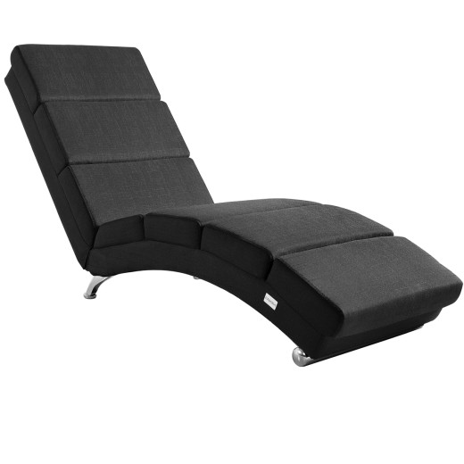 Chaise Lounge London Anthracite