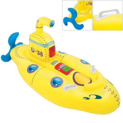 Bestway Wasserspielzeug U-Boot Gelb 165x86cm