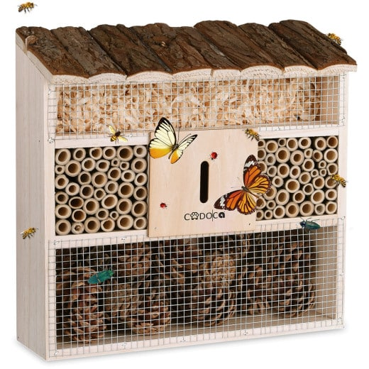 Insect Hotel 12x3.7x12in