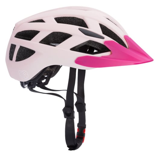 Adjustable Kids Helmet Children Warning Lights - Berry Pink S