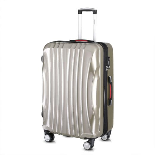 Ikarus Suitcase XL Champagne - USB