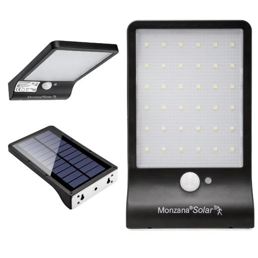 Solar Wandleuchte mit Bewegungsmelder 36 LED's