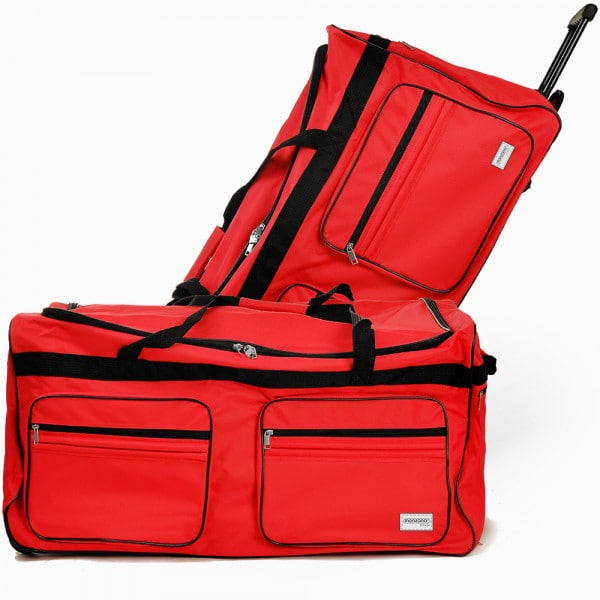 Large Red 160L Duffel Bag