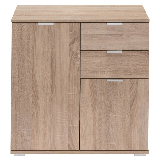 "Sideboard Cupboard ""Alba"" Light Oak Wooden"