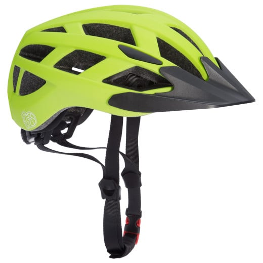 Kids Cycling Helmet Green-Black M