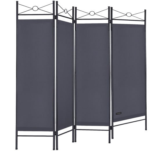 Meditarranean Room Devider in Anthracite 6x5ft