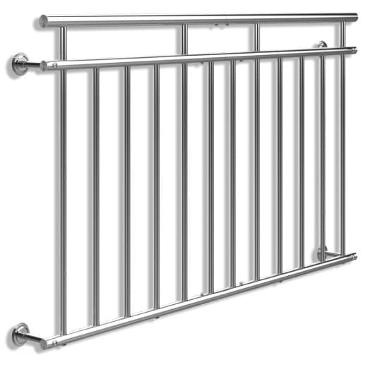 French Balcony Railing Stainless Steel 3x5ft