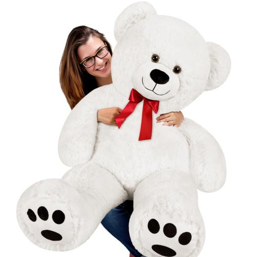 Plüschtier Teddybär XXL weiß