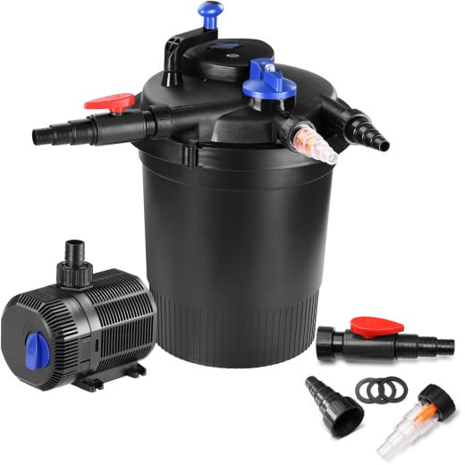 Pressure Filter Pond Set 10.000L/h