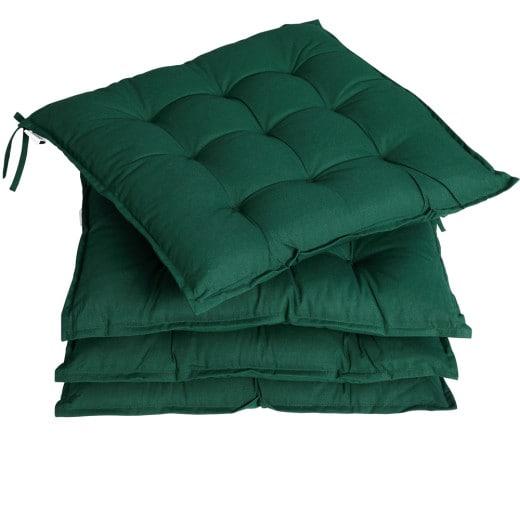 Set of 4 Cushion green 40 cm Sydney