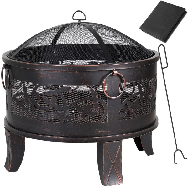 Fire Pit Steel Roung Ø2.2ft