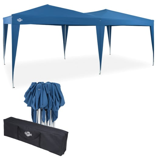 Pop Up Gazebo in Blue 6x3m