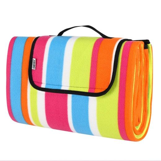 Lovely Picnic Blanket with Handles Waterproof & Thermally insulated