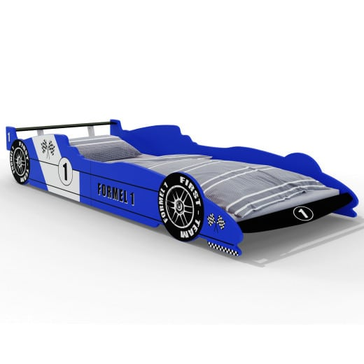F1 Racing Bed Blue