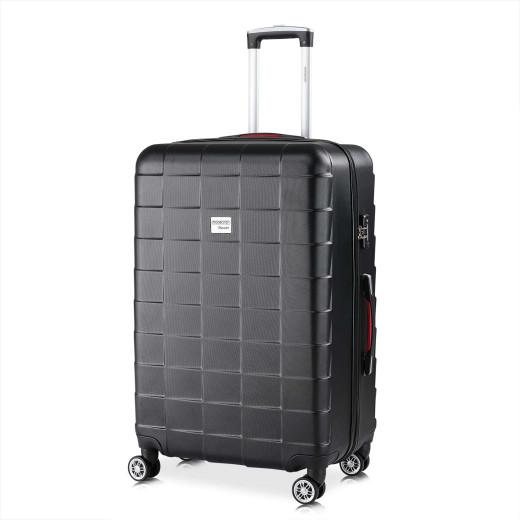 Hard Shell Suitcase Exopack Black 105L