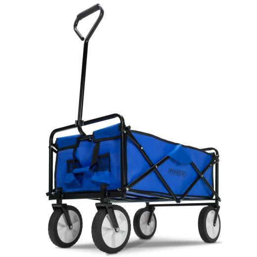 Bollerwagen Blau faltbar