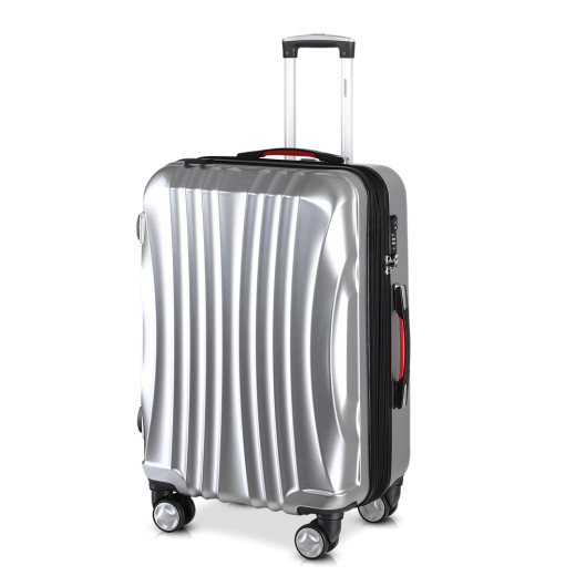 Ikarus Suitcase XL Silver - USB