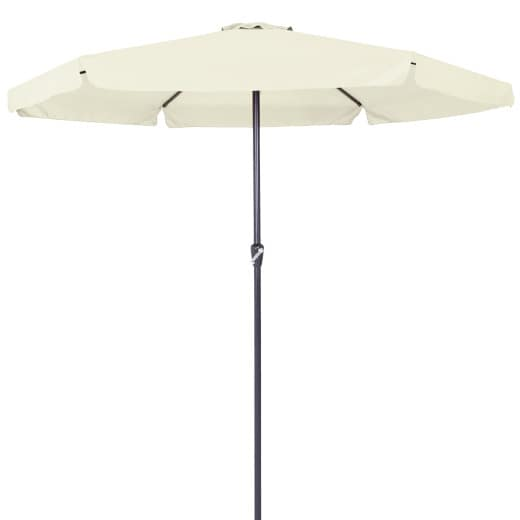 Sun Parasol with Crank Handle 350cm - Beige