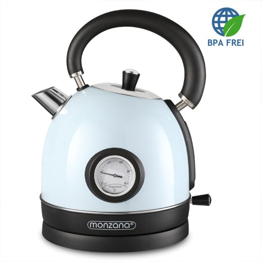 Electric Retro Kettle 1.8L Blue