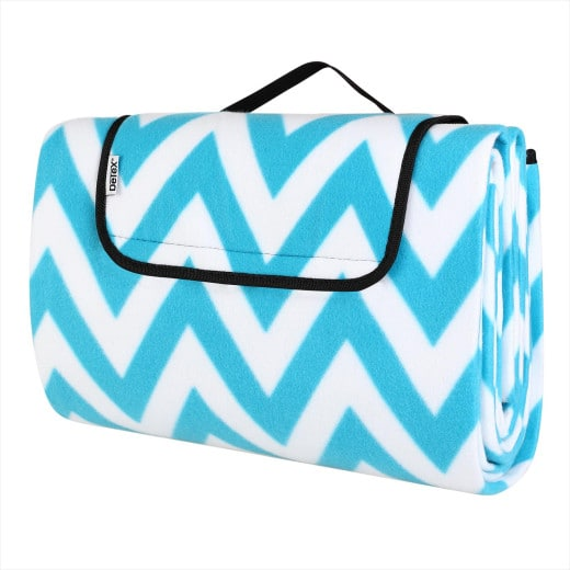 Lovely Picnic Blanket with Handles Waterproof & Thermally insulated 2 x 2m