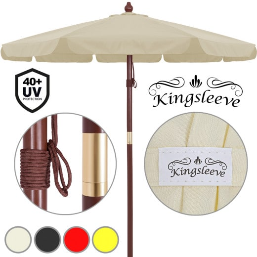 Garden Sun Parasol 3.5m UV40 Patio Shade Umbrella