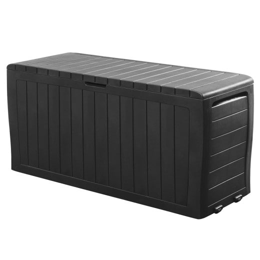 Garden Storage Box Marvel Plus Anthracite 3.8x1.5x1.9ft