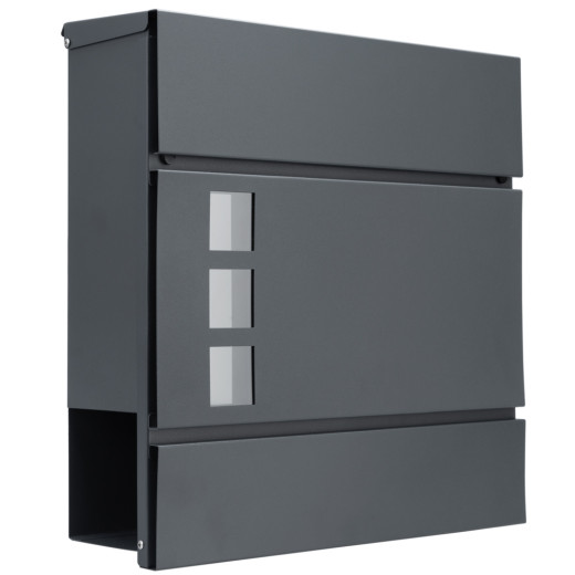 Design Letterbox Mail Box Weather-resistant Anthracite