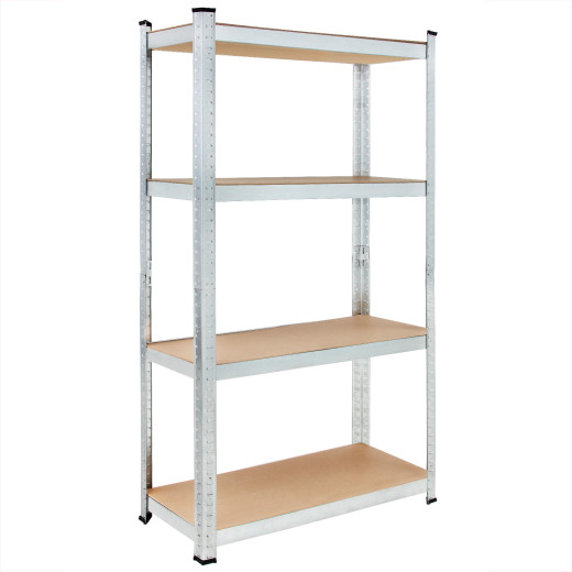 Heavy Duty Shelving 5.5x2.5x1ft Galvanized Metal max. Load 280kg