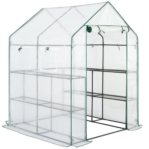 Greenhouse PE 5x5ft with 3 Tiers