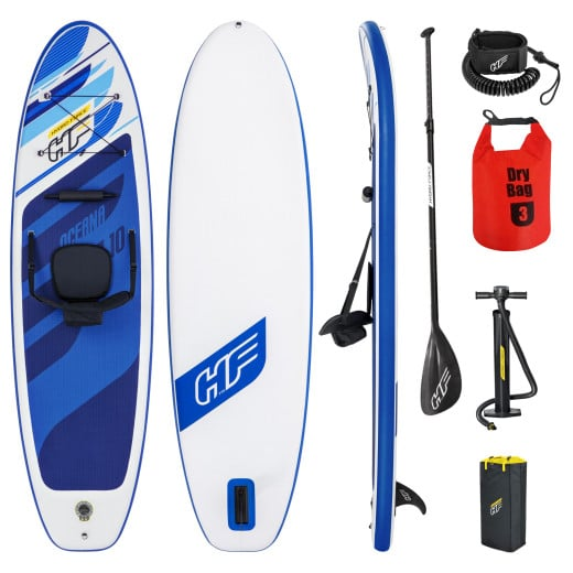Bestway SUP Stand Up Paddle Board and Kayak 130kg 305x84x12cm