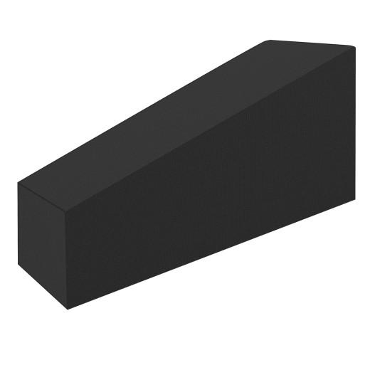 Abdeckung Saunaliege Anthrazit 160/155x60x75/39cm