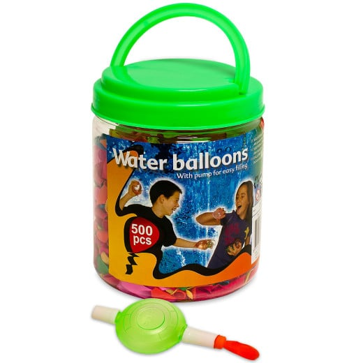 Water Balloons 500Pcs Multi-Coloured with Filler