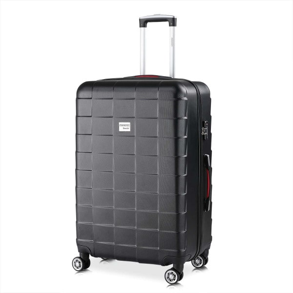 Monzana Suitcase Exopack XL Black