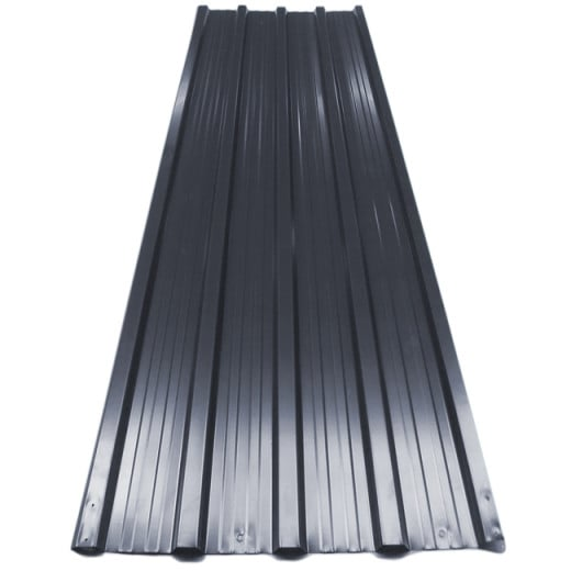 Corrugated Roof Sheets 12Pcs Anthracite 7m²