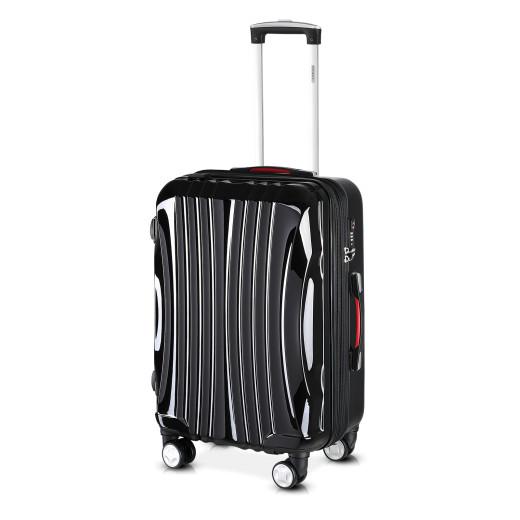 Ikarus Suitcase L Black - USB