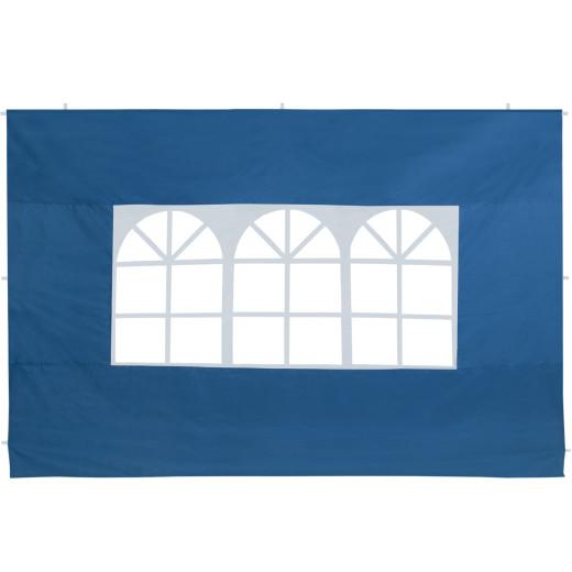 2er-Set Seitenwände Faltpavillon in Blau 3x2m