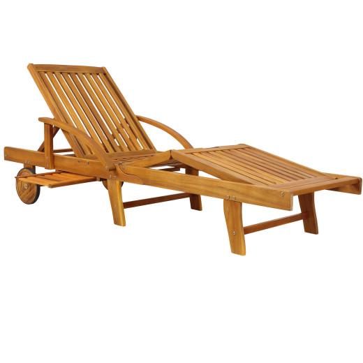 Sun Lounger Tami Sun Acacia Wood