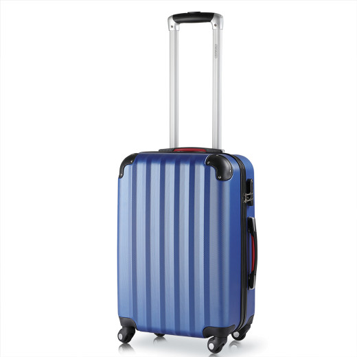 Hard Shell Suitcase L Blue