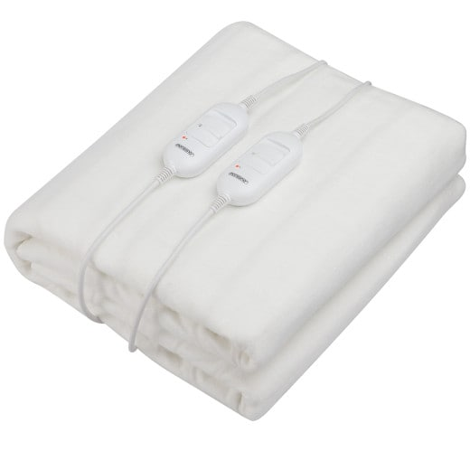 Electric Heated Blanket 160x140cm for 2 People