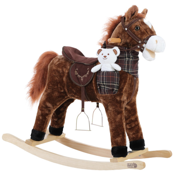 Rocking Horse Brown with Sound Function