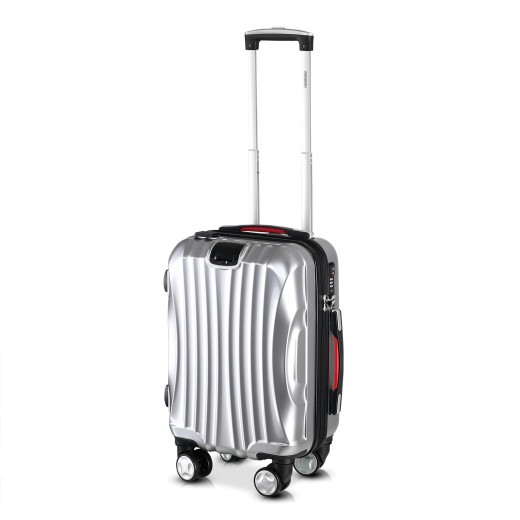 Ikarus Suitcase M Silver - USB