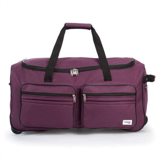 Travel Duffel - 100L - Violet - Wheeled Holdall
