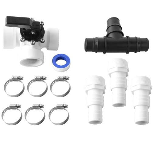 12 Pieces Bypass Set Swimming Pool Adapter