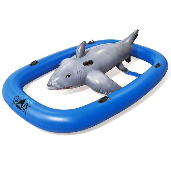 """10'2"""" x 7'/3.10m x 2.13m Tidal Wave Shark Ride"""