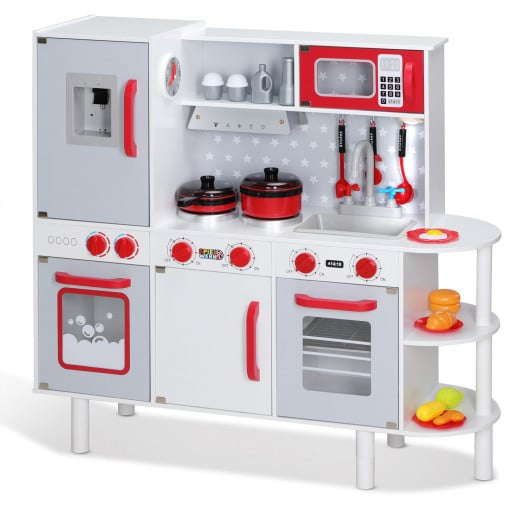 Play Kitchen Wood incl. Accessories 3x1x3ft